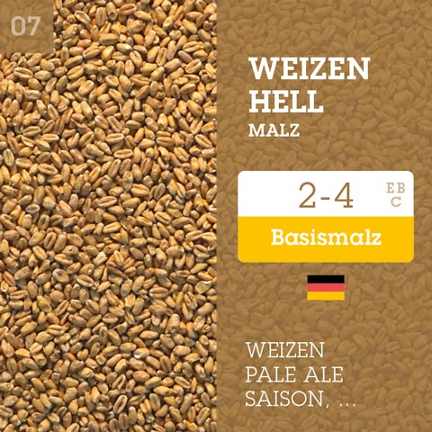 Weizen Hell 2-4 EBC
