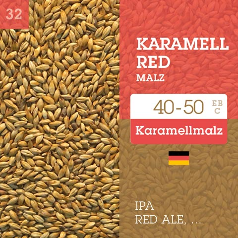 Karamell Red Malz - Cara Red 40-50 EBC