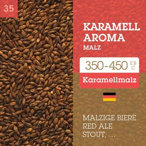 Karamell Aroma Malz - Cara Aroma 350-450 EBC