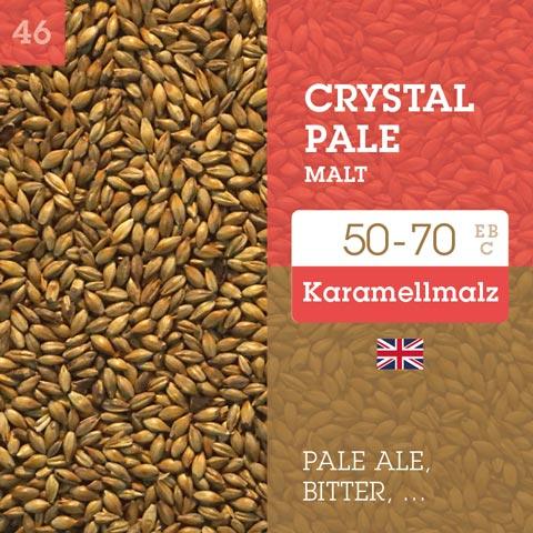 Crystal Pale Malt 50-70 EBC