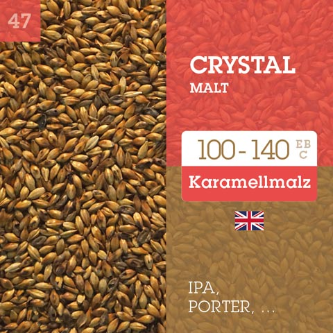 Crystal Malt 100-140 EBC