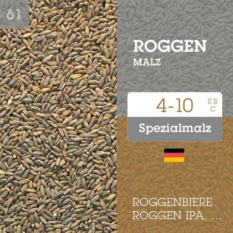 Roggenmalz 4-10 EBC
