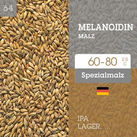 Melanoidinmalz - 60-80 EBC