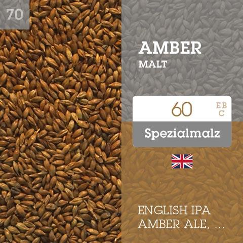 Amber Malt 60 EBC