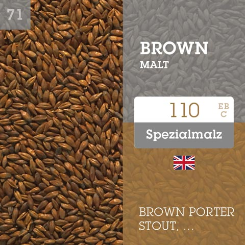 Brown Malt 110 EBC