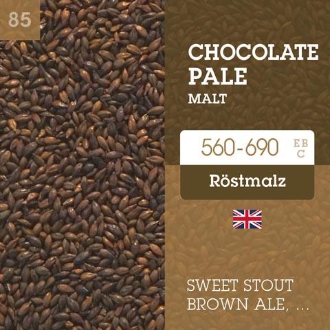 Chocolate Pale Malt 560-690 EBC