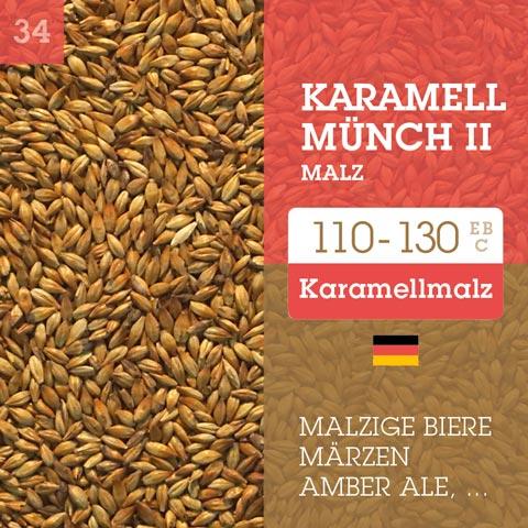 Karamell Münch 2 Malz - Cara Münch 2 EBC