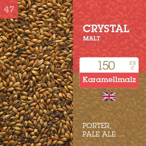 Crystal Malt 150 EBC Warminster