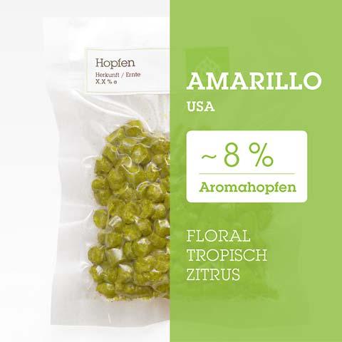 Amarillo USA Hopfen Hopfenpellets P90 kaufen