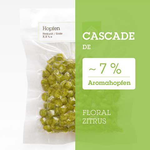 Cascade DE Hopfen Hopfenpellets P90 kaufen