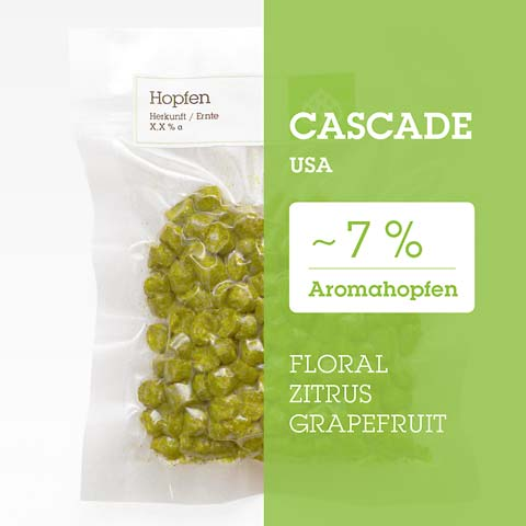 Cascade USA Hopfen Hopfenpellets P90 kaufen