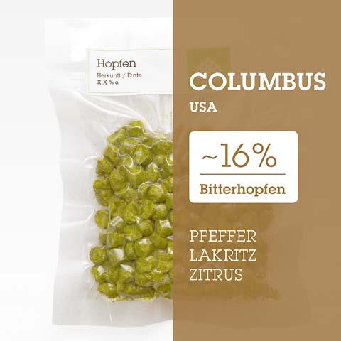 Columbus USA Hopfen Hopfenpellets P90 kaufen