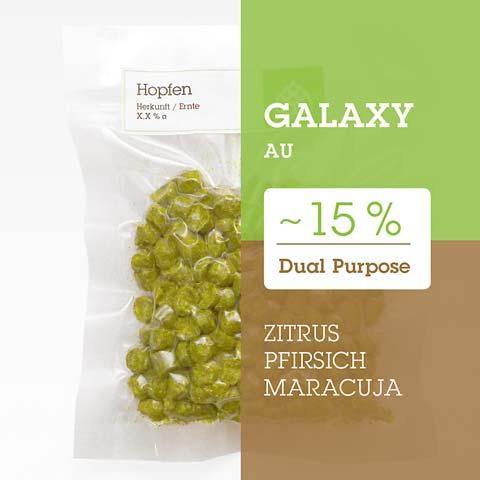 Galaxy AU Hopfen Hopfenpellets P90 kaufen