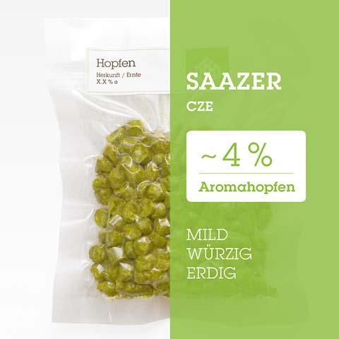 Saazer CZE Hopfen Hopfenpellets P90 kaufen
