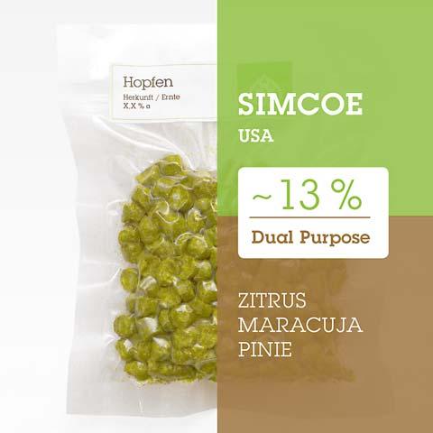 Simcoe USA Hopfen Hopfenpellets P90 kaufen