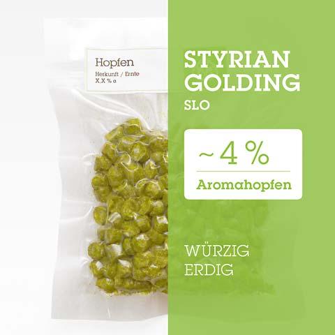 Styrian-Golding SLO Hopfen Hopfenpellets P90 kaufen