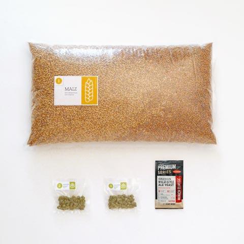 Flavorhop Weizen Braumischung, Braupaket