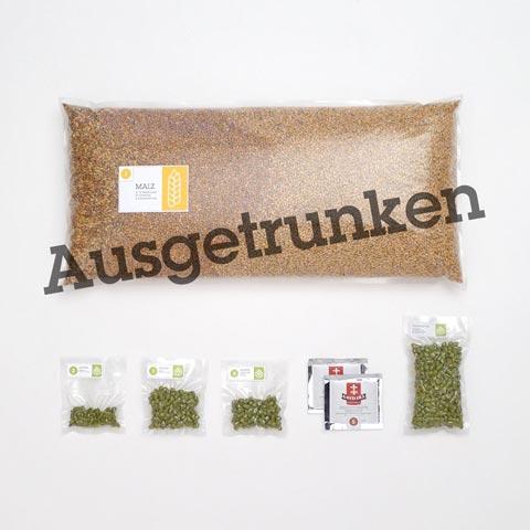 Braumischung Hopfenweisse - Weizen Doppelbock IPA - Callista/Hallertau Blanc
