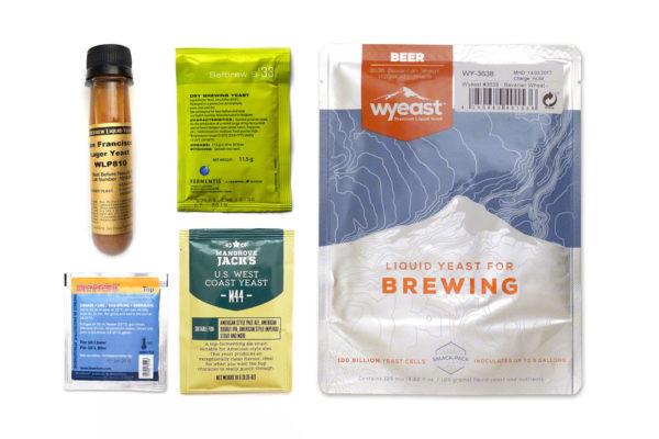 Verschiedene HEfearten - Fermentis, Brewferm, Wyeast, Mangrove Jack's