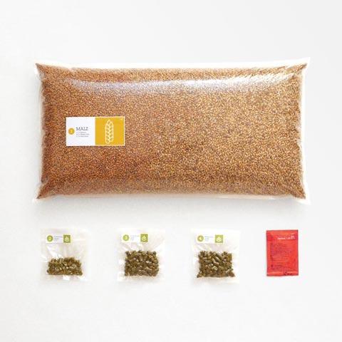 17 Braumischung Sunday Wheat, Weizenbier Braupaket