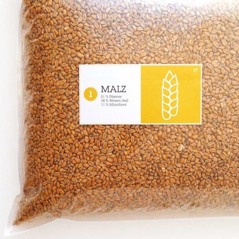 Malzmischung American Wheat - amerikanisches Weizenbier