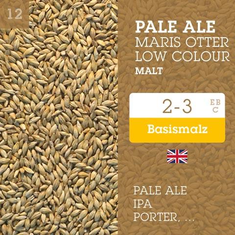 Pale Ale Maris Otter Low Colour Malt 4-5 EBC