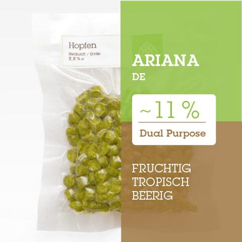 Ariana DE Hopfen Hopfenpellets P90 kaufen