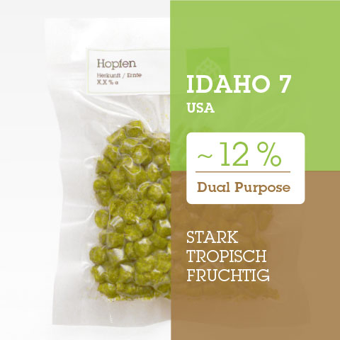Idaho 7 USA Hopfen Hopfenpellets P90 kaufen