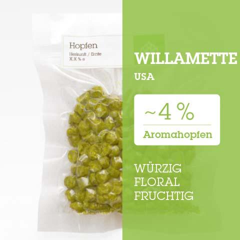 Willamette USA Hopfen Hopfenpellets P90 kaufen